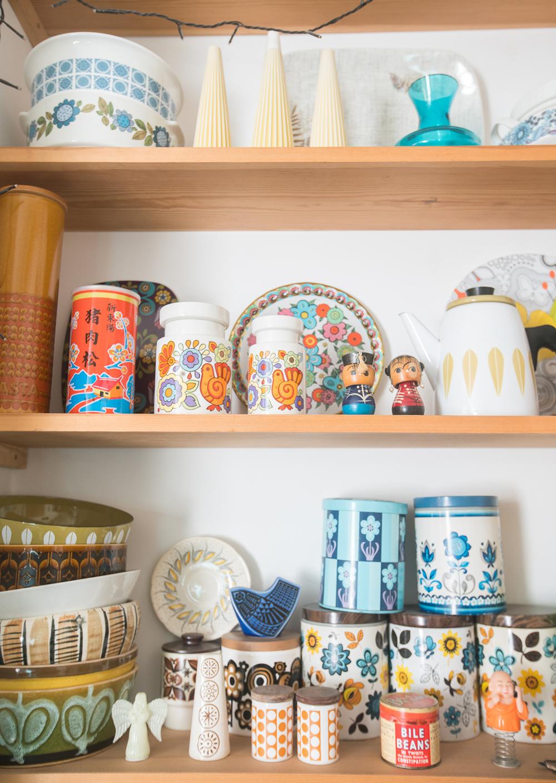 vintage shelf, vintage collectables, maggie magoo notebook, MaggieMagoo Designs, Maggie Magoo, British designer, meet the maker interview, print and pattern,