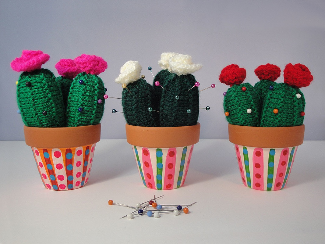cactus pin cushion, kerry day,