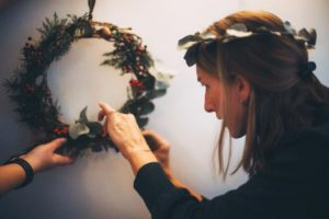 Botanical Tales, Bex Partridge, flower wreaths, dried flower wreaths, Botanical Tales Instagram,