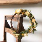 Botanical Tales, Bex Partridge, flower wreaths, dried flower wreaths, Botanical Tales Instagram,