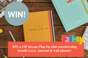 Dream Plan Do giveaway – get your handmade business off to a brilliant start in 2018!