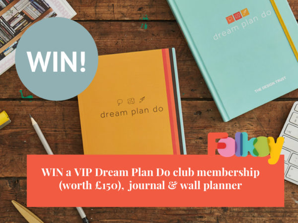 Dream Plan Do giveaway