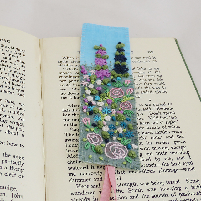 floral bookmark, gift ideas for gardeners, gifts for gardeners, gifts for gardener uk, unique gift ideas for gardeners, handmade gift ideas, shop small,