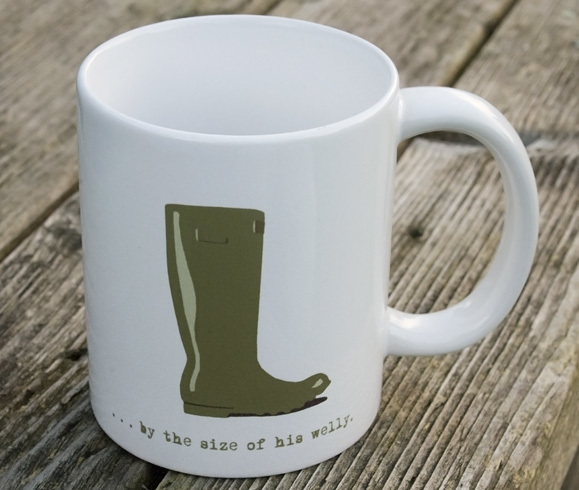 gift ideas for gardeners, gifts for gardeners, gifts for gardener uk, unique gift ideas for gardeners, handmade gift ideas, shop small, welly mug,