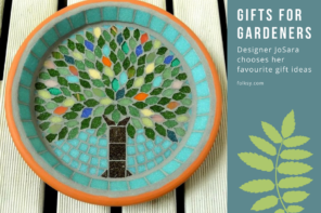 Gifts for gardeners – designer JoSara chooses her top gift ideas