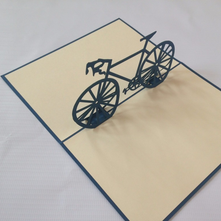 bike papercut, bicycle papercut, gifts for cyclists, cyclist gifts,