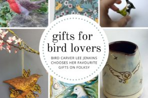 Gifts for bird lovers – bird carver Lee Jenkins chooses her favourite gift ideas