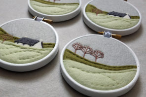 Stitched in Scotland – meet embroidery artist Nicola McEachran from ndm handmade