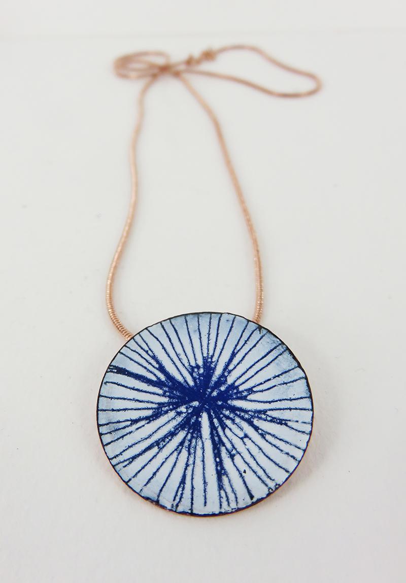 enamel jewellery, Enamel Jewelry, handmade Jewelry, 830 degrees, Justine Nettleton, enamel necklace,