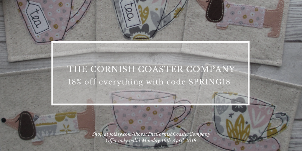 Cornish Coaster Company offer, offers, discount code,