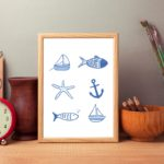 Cornwall print, Skantlyn, Cornish designer, Cornish illustrator, Cornish art, Cornwall designer,