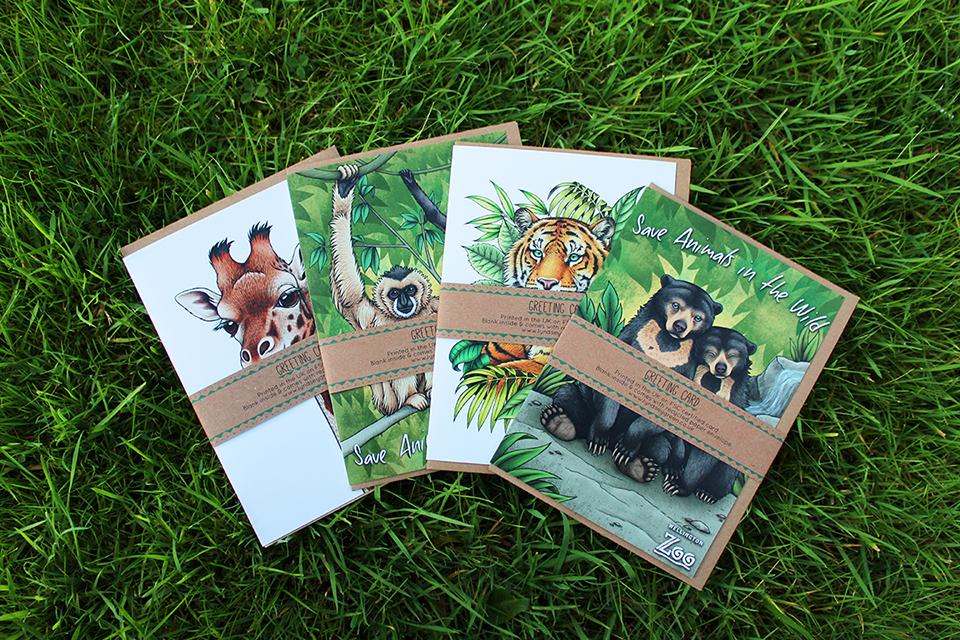 Naked Cards campaign, Naked Cards, Lyndsey Green Illustration,