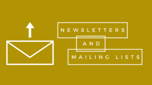 newsletter tips for designers and makers, mailing list tips, GDPR, sell craft online,