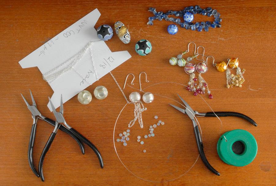 murano jewellery, sasha garrett,