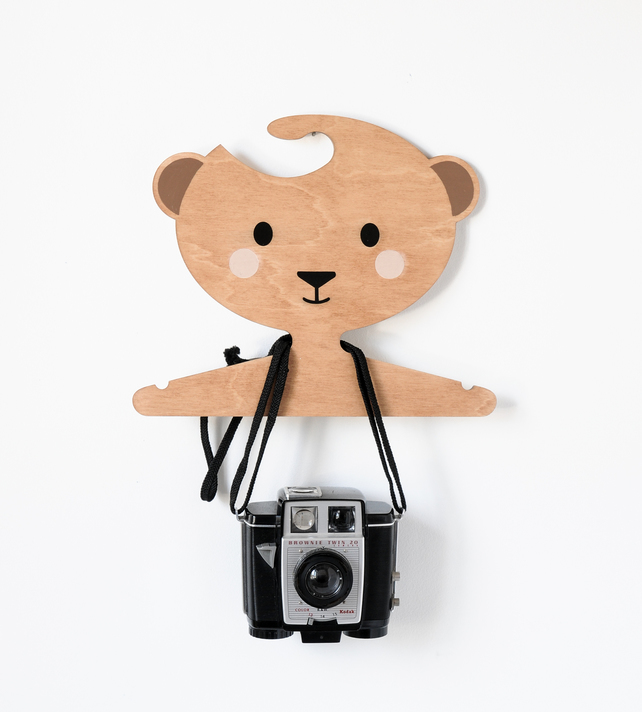 cute bear clothes hanger