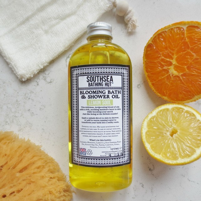 Bath Oil and Shower Gel by SouthSea Bathing Hut