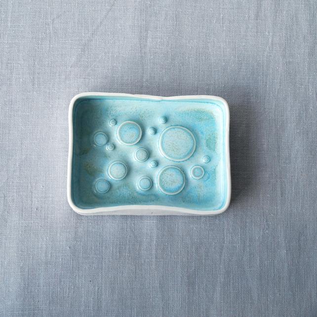 Porcelain Soap Dish by Vanilla Kiln
