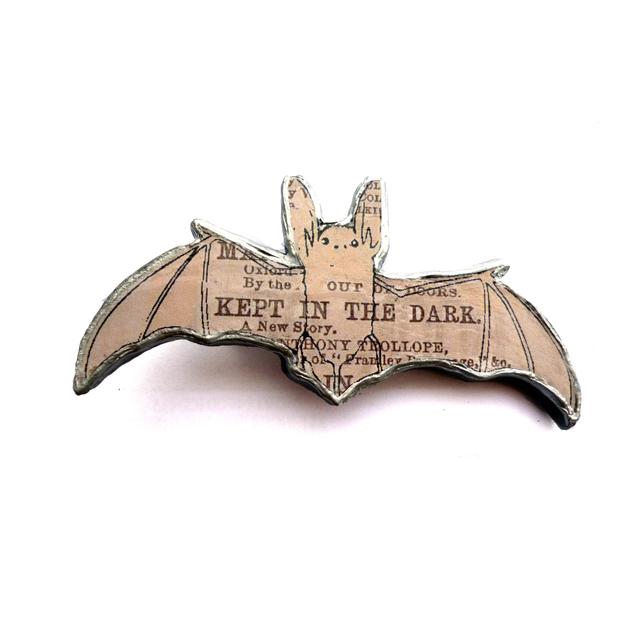 Bat necklace by EllyMental Jewellery