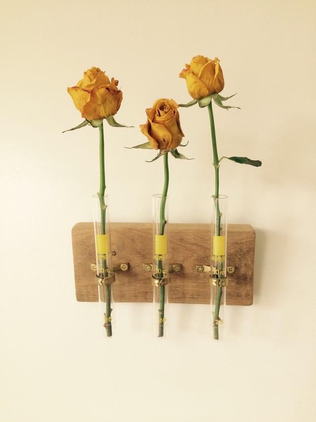 Test Tube Flower Vase by PipeLineStudio