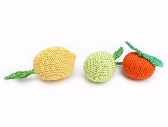 Crochet fruit by Petit MushyP