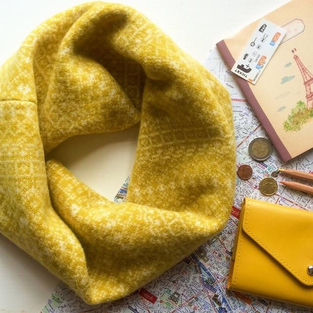 Cosy Fair Isle Snood by Suzie Lee Knitwear