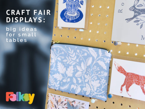 Craft Fair Inspiration - big ideas for small tables