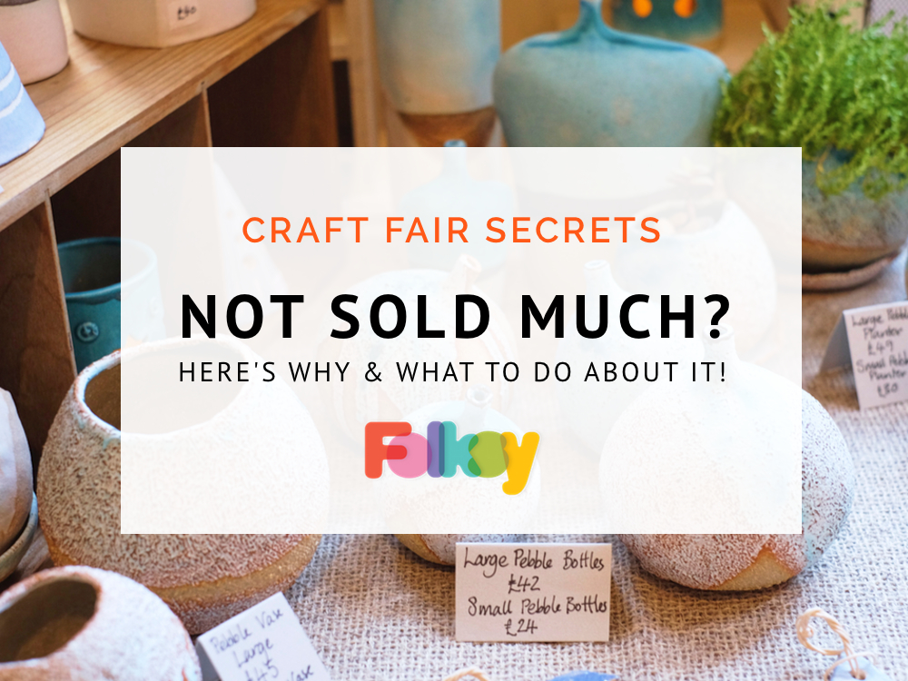 Craft Fair Secrets Not Sold Much Here S Why And What To