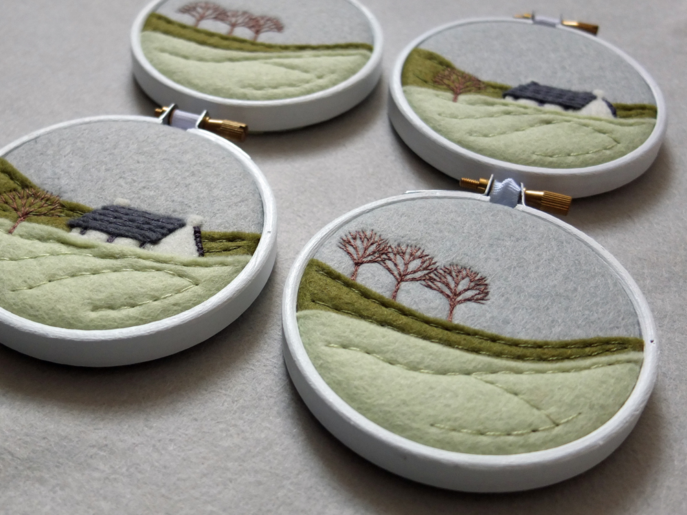 Stitched In Scotland Meet Embroidery Artist Nicola From Ndm Handmade