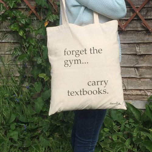 bookworm tote bag, back to school ideas, Francesca's Words,