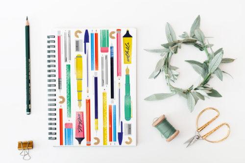 A5 notebook by Sam Osbourne Store