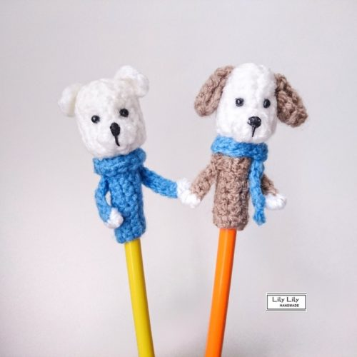 Back to school ideas 2018, pencil toppers, animal pencil toppers, dog pencil toppers,