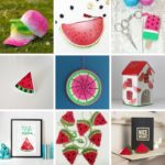 watermelon crafts,