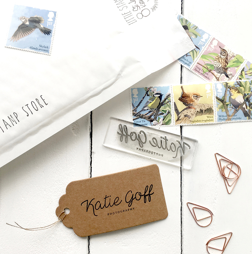 custom brand stamps, photographer stamps, Little Stamp Store, Fran Sherbourne, handmade stamps, personalised stamps, custom stamps, custom stamps uk,