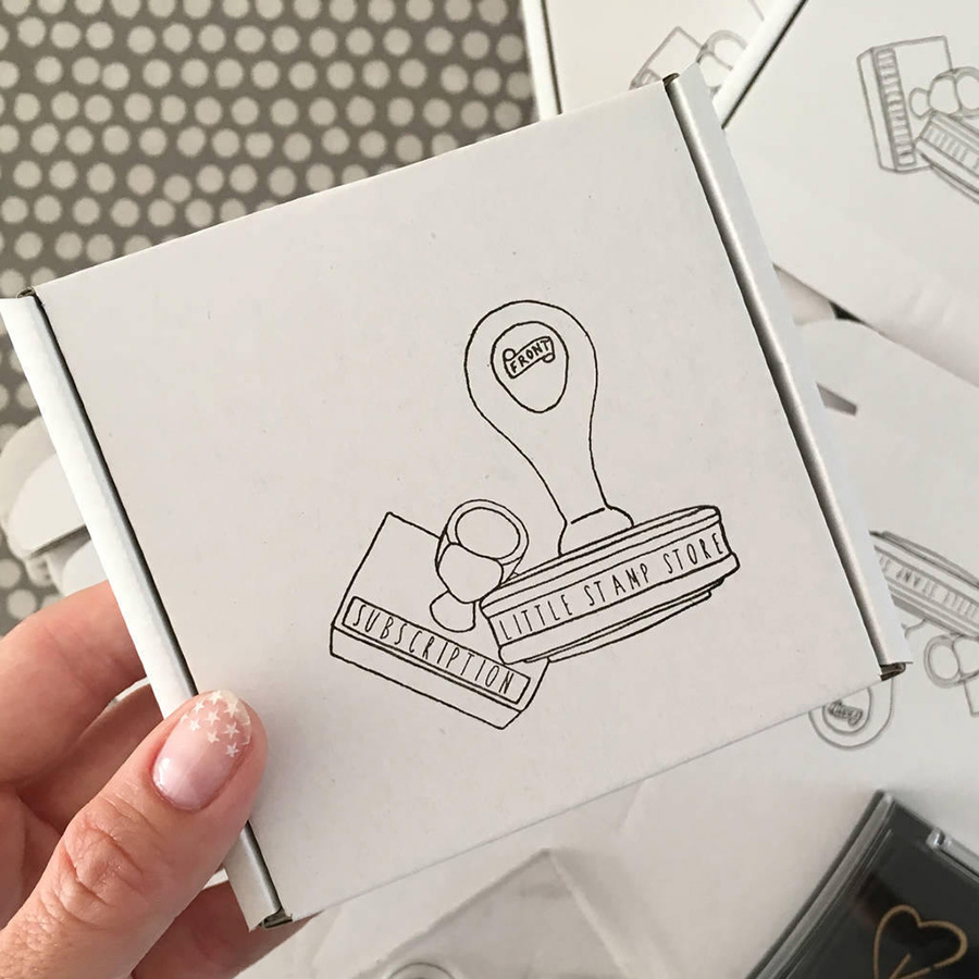 stamp subscription box, Little Stamp Store, Fran Sherbourne, handmade stamps, personalised stamps, custom stamps, custom stamps uk,