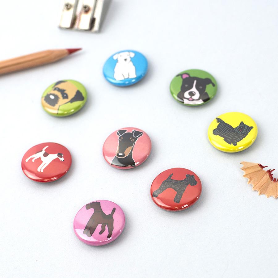 dog badges, dog gifts, dog art prints, terrier gifts, wire fox terrier gifts, fox terrier gifts, gifts for dog lovers, gift ideas for dog lovers, forever foxed,