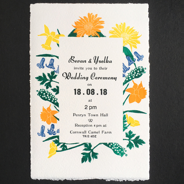 british countryside wedding, english country garden wedding, woodland wedding, garden themed wedding, wedding invitation, countryside wedding invitation, wild flowers wedding invitation,