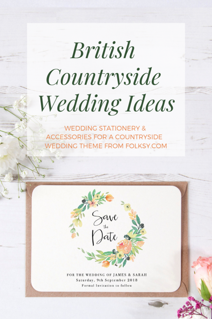 british countryside wedding theme ideas, country wedding ideas, english garden wedding ideas, pretty in pink save the date cards, Vintage Prints wedding stationery,