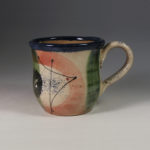 Zealous Stories, handmade ceramics, slipware mug, GREAT CHEVERELL POTTERY, Mick and Christabel Davey, Wiltshire Pottery,