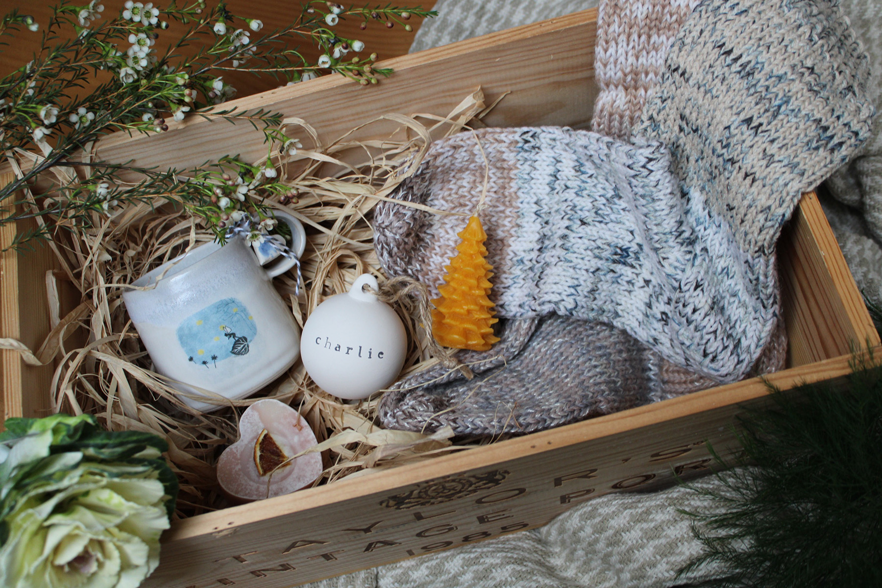 The Perfect Handmade Christmas Hamper By The Poncy Pantry