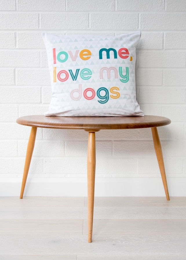 best gifts for dog lovers, gifts for dog lovers, dog gift ideas, dog cushion,