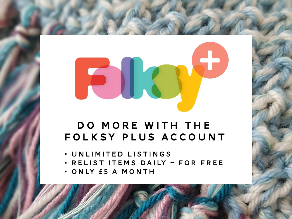 Folksy Plus account, sell craft online, sell craft,