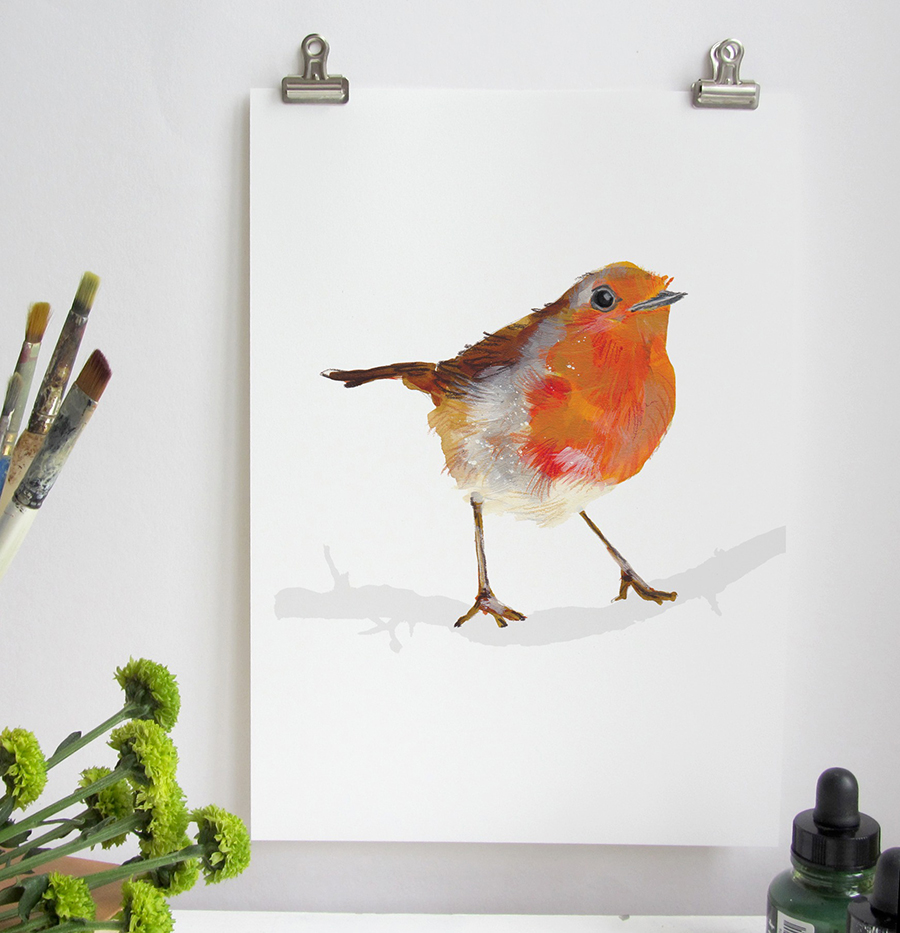 Robin Illustration, Abby Cook, 20 ways to sell more at christmas, how to sell more at christmas, marketing tips for designers and makers,
