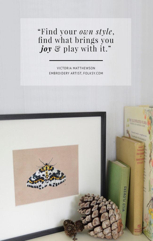 embroidery art, embroidery, embroidery artist, Victoria Matthewson,