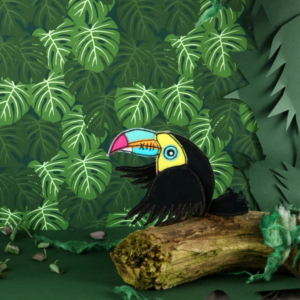 Zombie Toucan by Fiona T