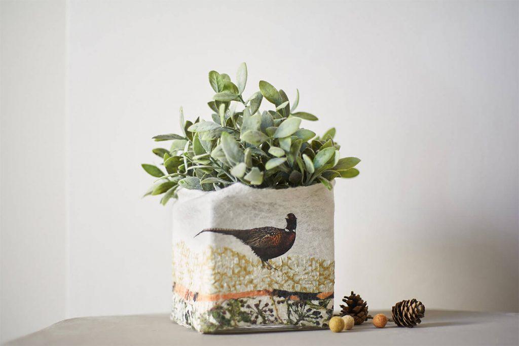 Pheasant planter