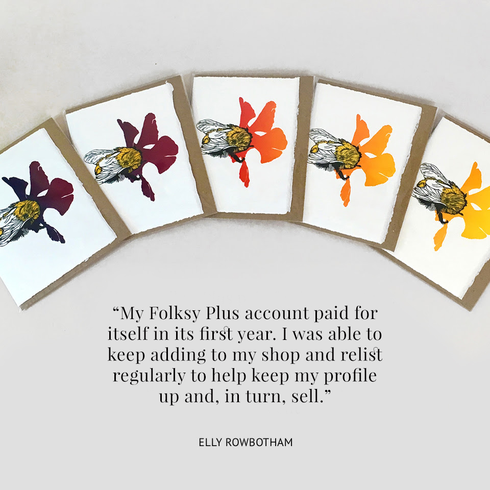 Benefits of Folksy Plus Account