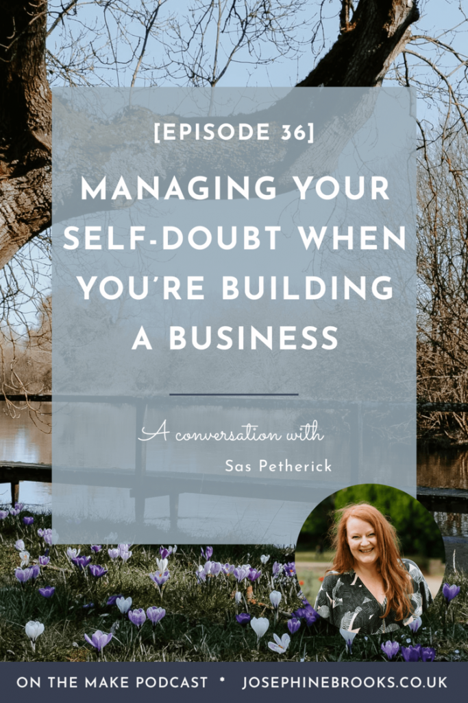 Managing Self Doubt Podcast