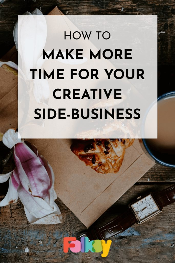 How to make more time for your creative business