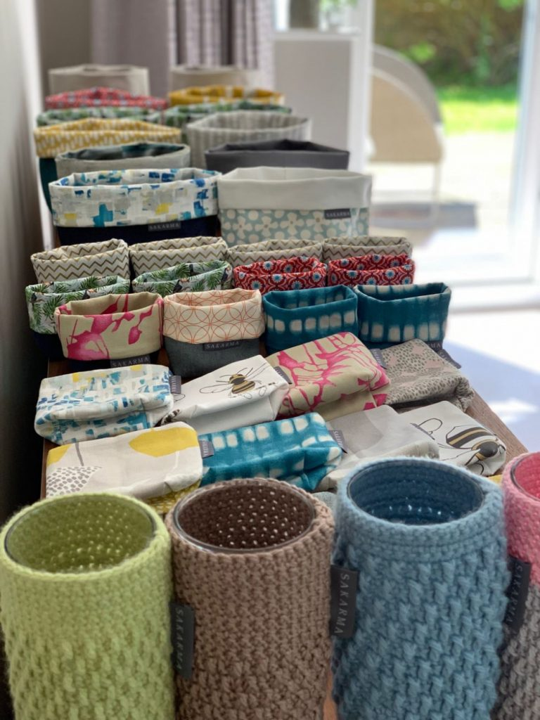 storage baskets and homeware by Sakarma Handmade