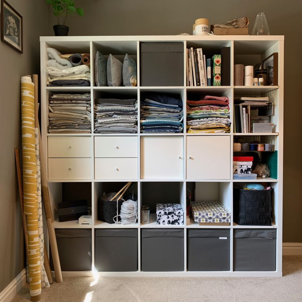 studio storage at Sakarma Handmade